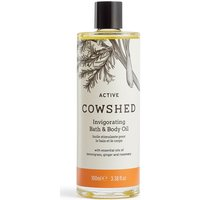 Cowshed ACTIVE Invigorating Bath & Body Oil 100ml