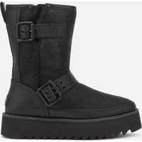 UGG Women's Classic Rebel Biker Short Boots - Black - UK 3