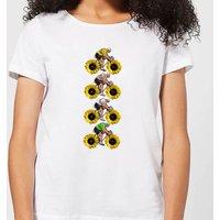 Mark Fairhurst Tournesol Riders Women's T-Shirt - White - XXL - White