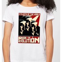 Mark Fairhurst Revolution Women's T-Shirt - White - XL - White