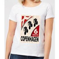 Mark Fairhurst Six Days Copenhagen Women's T-Shirt - White - L - White