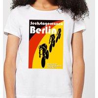 Mark Fairhurst Six Days Berlin Women's T-Shirt - White - XXL - White