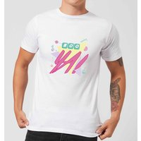 Boo Ya! Men's T-Shirt - White - XS - White