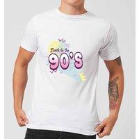 Back To The 90's Men's T-Shirt - White - XS - White