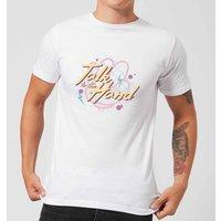 Talk To The Hand Mens T-Shirt - White - M - White