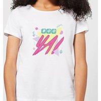 Boo Ya! Women's T-Shirt - White - 5XL - White