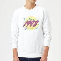 Born In 1998 Sweatshirt - White - XXL - White