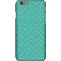 Green Sprinkles Pattern Phone Case for iPhone and Android - iPhone 6 - Tough Case - Gloss