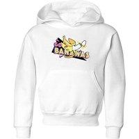Go Bananas Kids' Hoodie - White - 5-6 Years - White