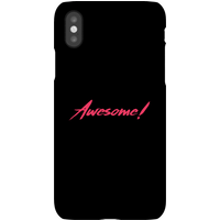 Awesome! Phone Case for iPhone and Android - Samsung Note 8 - Snap Case - Matte