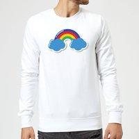 Rainbow Sweatshirt - White - XL - White