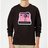 Polaroid Sweatshirt - Black - XXL - Black