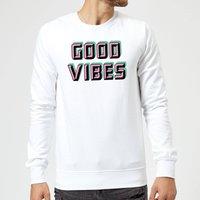 Good Vibes Sweatshirt - White - S - White