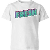 Fresh Kids' T-Shirt - White - 7-8 Years - White