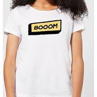 Booom Women's T-Shirt - White - L - White