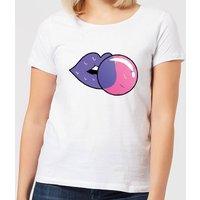 Bubblegum Women's T-Shirt - White - XXL - White