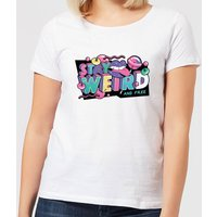 Stay Weird Women's T-Shirt - White - XXL - White