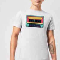 Cassette Tape Men's T-Shirt - Grey - S - Grey