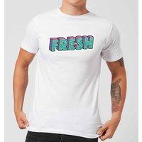 Fresh Men's T-Shirt - White - 3XL - White