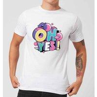 Oh Yes! Men's T-Shirt - White - L - White