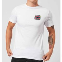 Small Boombox Men's T-Shirt - White - S - White