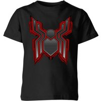 Spider-Man Far From Home Tech Icon Kids T-Shirt - Black - 11-12 Years
