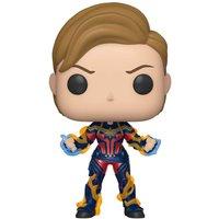 Marvel Avengers: Endgame Captain Marvel Pop! Vinyl Figure - Marvel Gifts