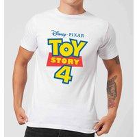 Toy Story 4 Logo Men's T-Shirt - White - 3XL - White