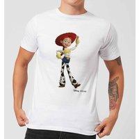 Toy Story 4 Jessie Men's T-Shirt - White - 5XL - White