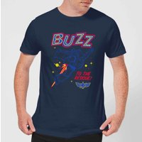 Toy Story 4 Buzz To The Rescue Men's T-Shirt - Navy - XS - Navy