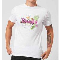 Disney Bambi Kiss Mens T-Shirt - White - M - White