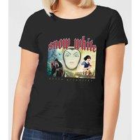 Disney Snow White And Queen Grimhilde Women's T-Shirt - Black - L - Black