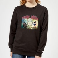 Disney Snow White And Queen Grimhilde Women's Sweatshirt - Black - L - Black