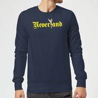 Disney Peter Pan Tinkerbell Neverland Sweatshirt - Navy - M - Navy