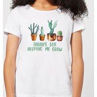 Thanks For Helping Me Grow Women's T-Shirt - White - 5XL - White