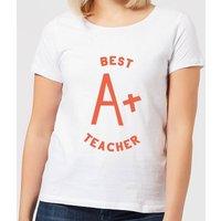 Best Teacher Women's T-Shirt - White - XXL - White