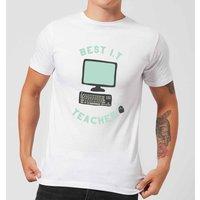 Best I.T Teacher Mens T-Shirt - White - XL - White