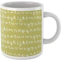 Alphabet Mug Green - Mug Gifts