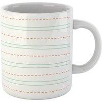 Lined Paper Mug - Mug Gifts