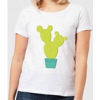 Tall Cactus Women's T-Shirt - White - XL - White