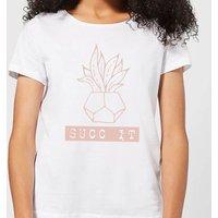 Succ It Women's T-Shirt - White - L - White