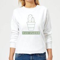 You Prick Women's Sweatshirt - White - L - White