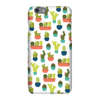 Cacti Pattern Phone Case for iPhone and Android - iPhone 5C - Snap Case - Matte