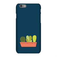 Cacti In Long Pot Phone Case for iPhone and Android - Samsung S7 - Snap Case - Gloss - Technology Gifts