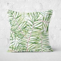 Tropical Leaves Square Cushion - 50x50cm - Soft Touch