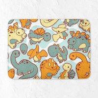 Cute Dinosaur Pattern Bath Mat
