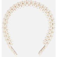 Shrimps Women's Antonia Beaded Headband - Cream