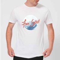 Free Spirit Tidal Wave Men's T-Shirt - White - L - White