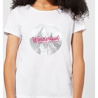 Mountain Wonderlust Adventure Is Out There Women's T-Shirt - White - 3XL - White