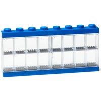 LEGO Mini Figure Display (16 Minifigures) - Blue
